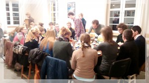 Wspólnotowa kolacja - październik 2014
